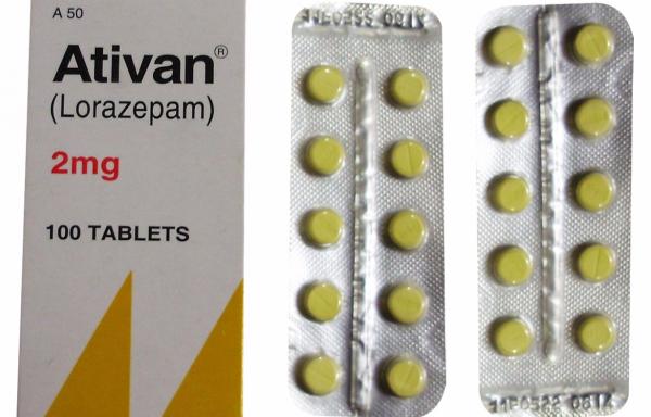 Ativan 2mg Lorazepam
